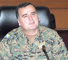 CJCSC meets Chief of Joint Staff, Bosnian Armed Forces
