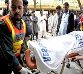 Jaffarabad road accident kills five