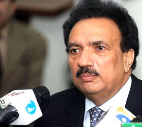 FIA to submit report on Transparency Int'l within a week: Rehman Malik