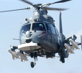 Navy Inducts Z9EC helicopters, EW Jet Aircraft
