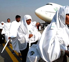Second Hajj flight Lands in Quetta After Eight-Hour Delay