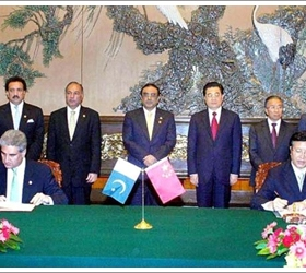 Pakistan, China ink series of agreements in private sector