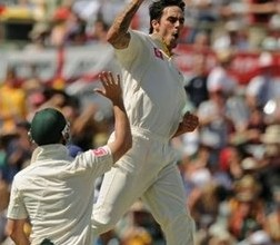 Australia fight back on second day