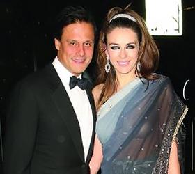 Elizabeth Hurley praises 'great father' Arun Nayar