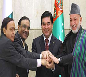 US 7.6 bln dollar TAPI project finally comes to life