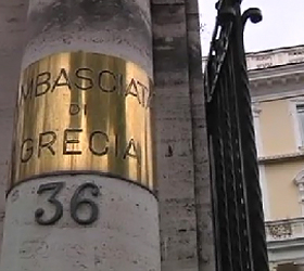 Parcel bomb defused at Greek embassy in Rome