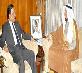 Zardari seeks Kuwait's cooperation for GCC free trade accord