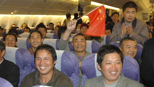 35,860 Chinese nationals in Libya evacuated