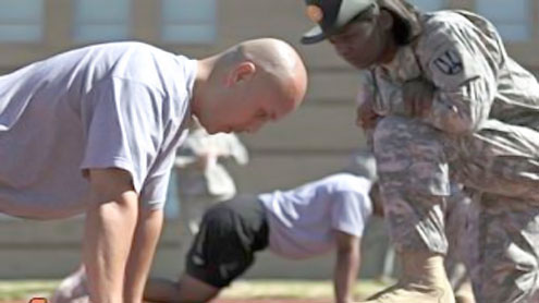Army's new fitness tests add taste of battlefield