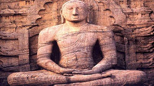 Buddhist relics awe Sri Lankan delegation