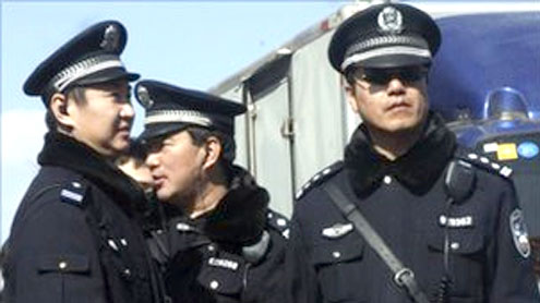 China security tight after new protest calls
