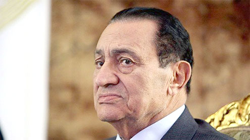 Egypt seizes Mubarak family funds