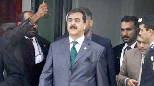 Gilani leaves for Pakistan after day-long visit of Mohali