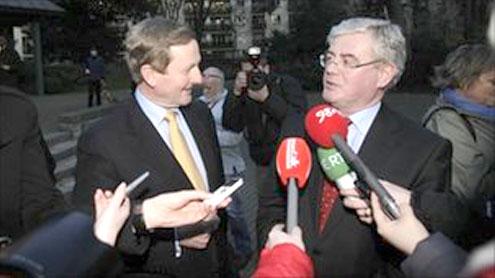 Irish Republic's new government to take over