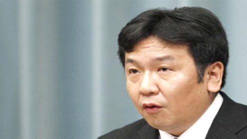 Japanese Chief Cabinet Secretary to Double as FM After Maehara's Resignation