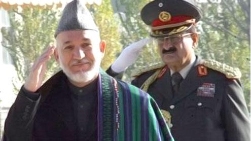 Karzai's skewed sense