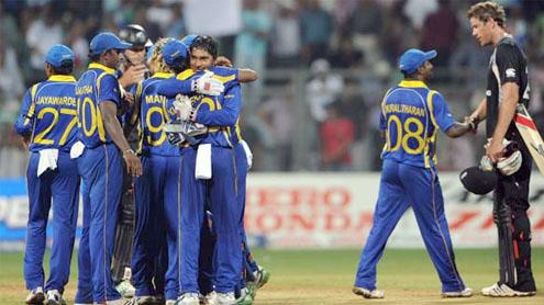 Lankans beat Kiwis