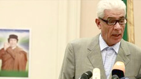 Libya foreign minister 'defects'