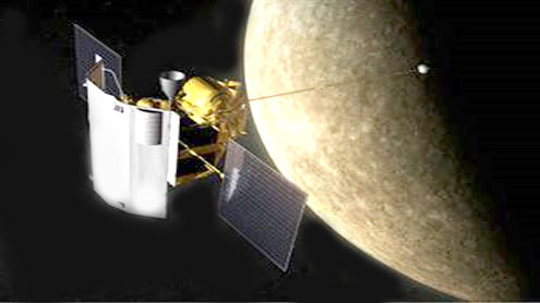 NASA spacecraft now circling Mercury — a first