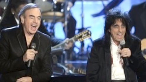 Neil Diamond joins Rock and Roll Hall of Fame