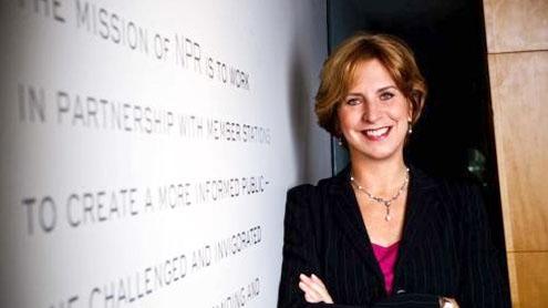 NPR chief executive Vivian Schiller resigns
