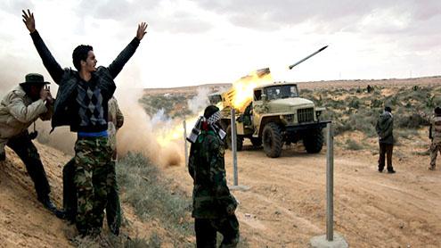 Oil installations ablaze in Libya as battles rage