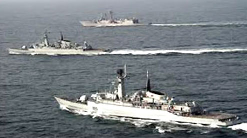 Pakistani Navy exercise Aman from today