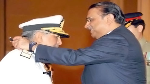 President confers civil, military awards on outstanding individuals