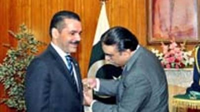 President confers Hilal-i-Pakistan upon Secretary General Interpol