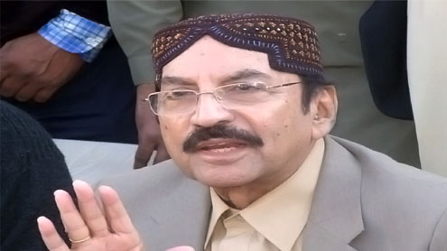 Sindh CM for early repair of flood protective bunds