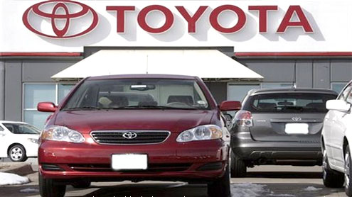 Toyota recalls 22,000 vehicles over tire monitors