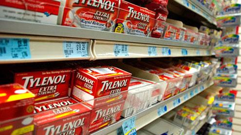 U.S. takes over three Tylenol plants