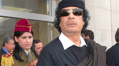 UN backs action against Gaddafi