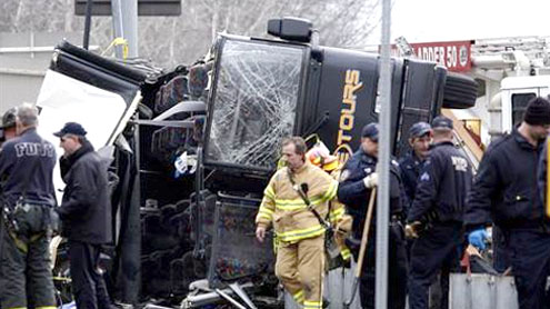 US Officials to Interview Bus Driver in NY Crash