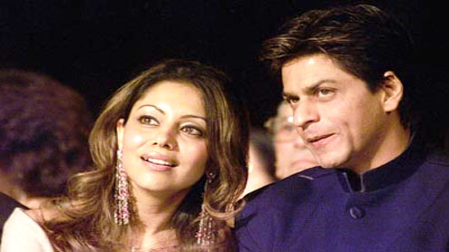 Who attended Shah Rukh and Gauri's post-Holi party?