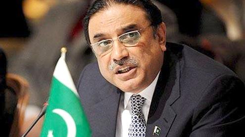 Zardari for ending discrimination against women