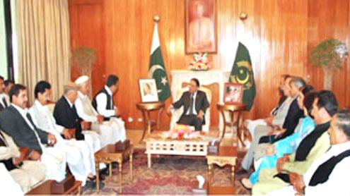 Zardari, Gilani head high level PPP meeting