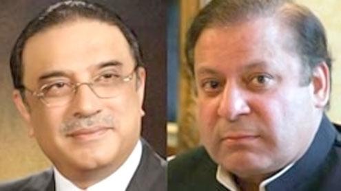 Zardari phones Nawaz, seeks cooperation