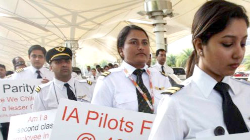 600 Air India pilots go on strike