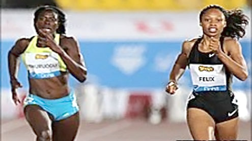 Allyson Felix to face Christine Ohuruogu in street race