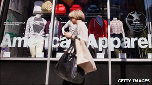 American Apparel in new bankruptcy warning