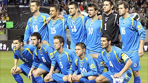 Bosnia-Hercegovina handed Fifa international ban