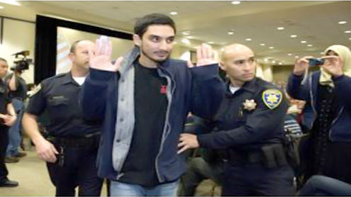 Calif. Muslim students arraigned for disruption