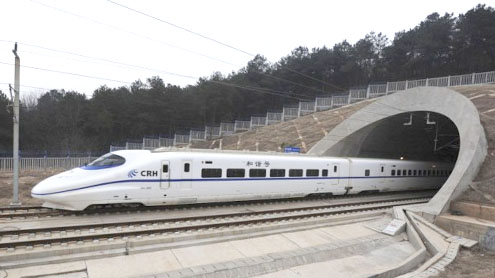 China's high-speed rail poses threats to domestic airlines