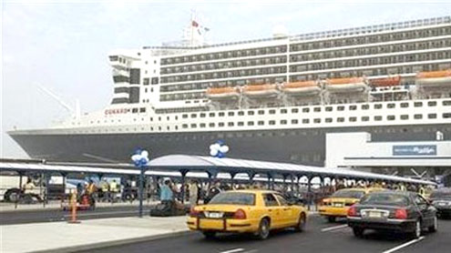 East Coast's gets first electric cruise ship dock