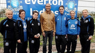 Everton Ladies celebrate launch of WSL