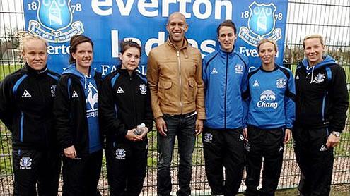 Everton Ladies celebrate launch of WSL