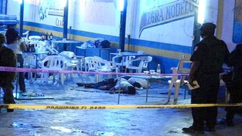 Five women brutally murdered in Mexico beach resort
