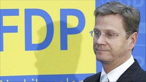 German chancellor's deputy Westerwelle quits