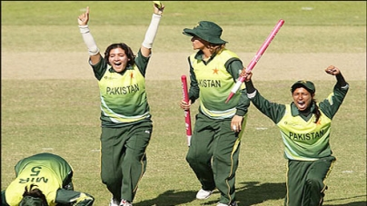 Javeria powers Pakistan to exciting win over SL in women series
